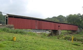 Pine Grove Covered Bridge, Little Britain, PA
